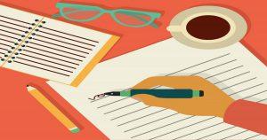 Passo a passo para você aprender a escrever!
