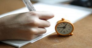 Foto 1- Cronometre o tempo!