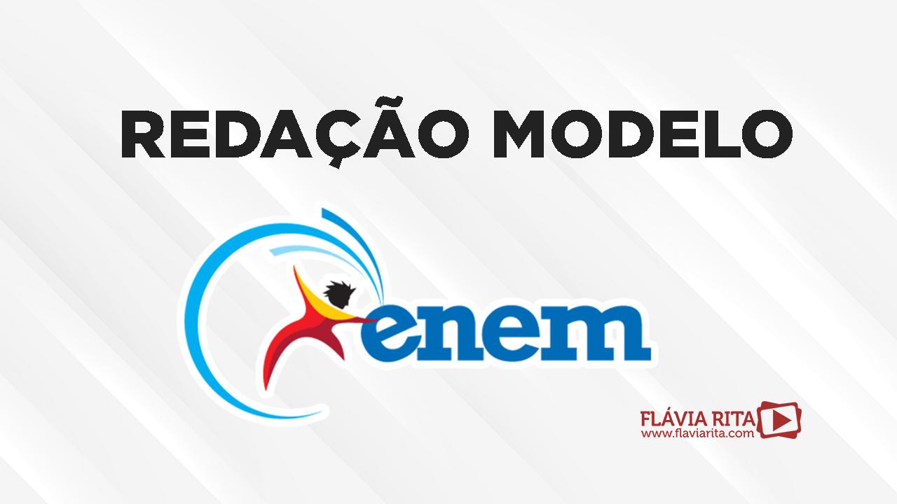 Redação modelo do ENEM 2019