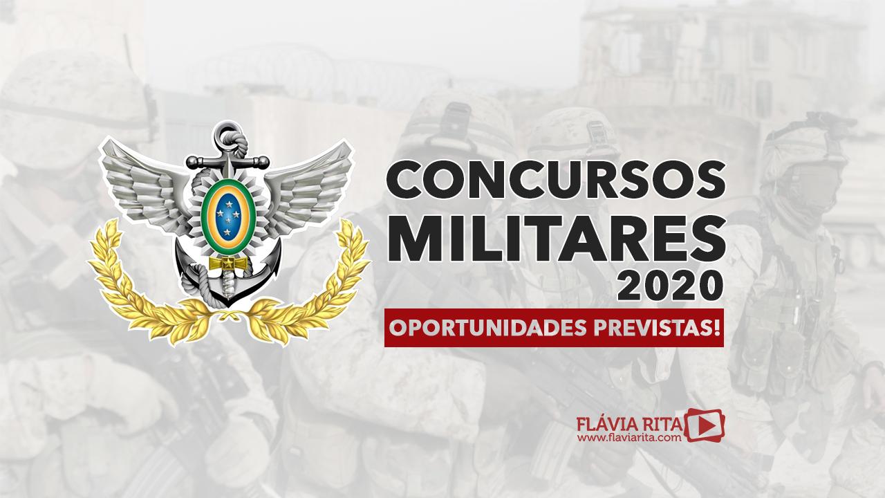 Concursos Militares 2020
