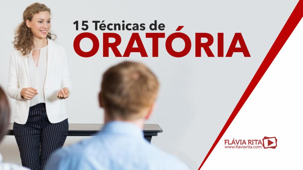 15 Técnicas de Oratória para aprender falar em público