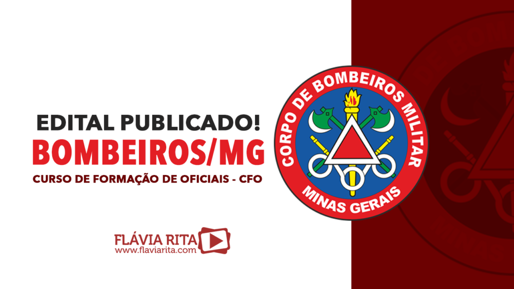 Edital Publicado CFO - Bombeiros/MG