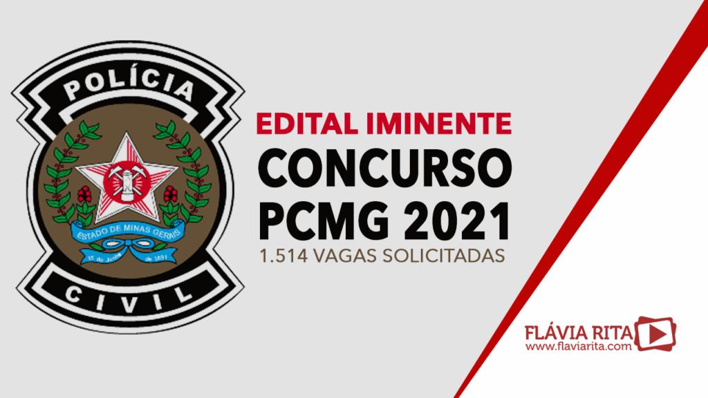 Concurso PCMG 2021: 1.514 vagas solicitadas. Confira!