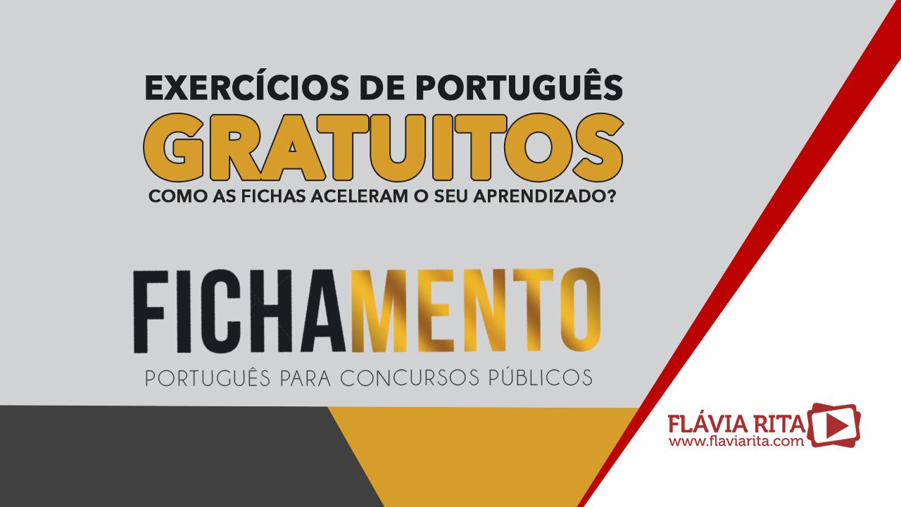Exercícios de português gratuitos: como as fichas aceleram o seu aprendizado?