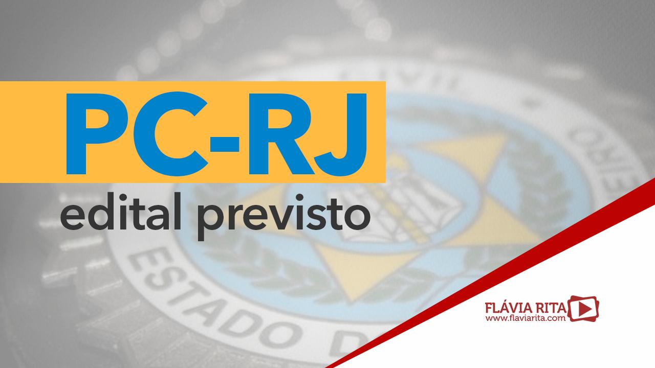 Concurso PC-RJ 2021: organizadora escolhida. 400 vagas imediatas!